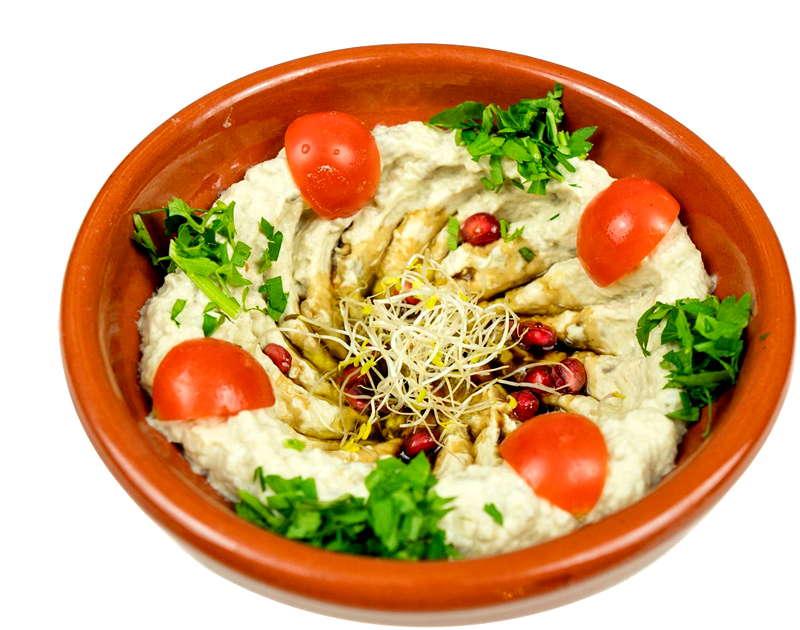 Arabesca Restaurant. Cocina Sirio-Libanesa